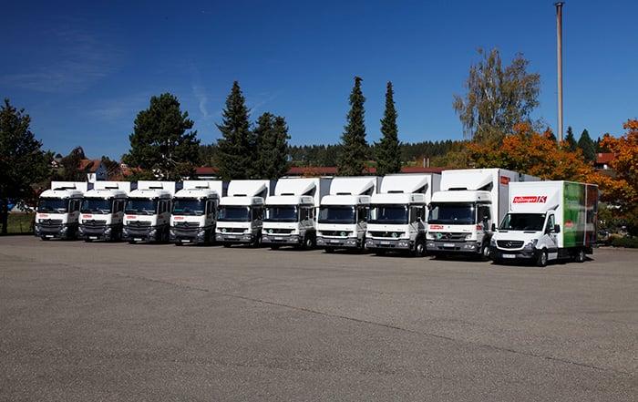 LKW Flotte Verkaufsförderung