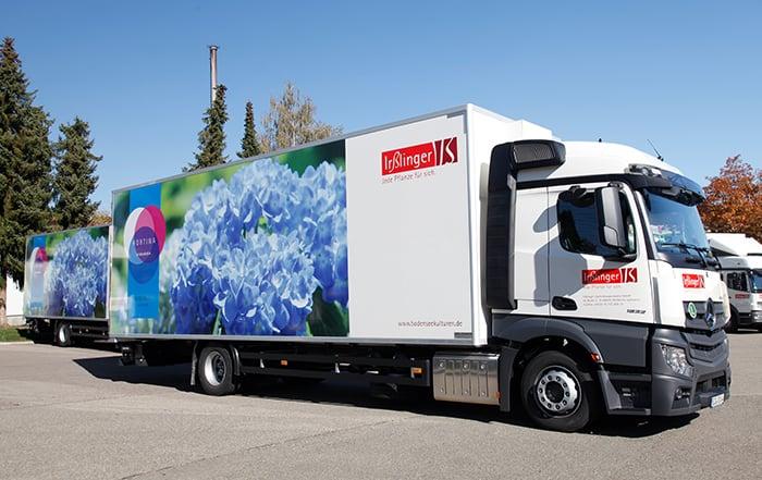 LKW Hortina Verkaufsförderung