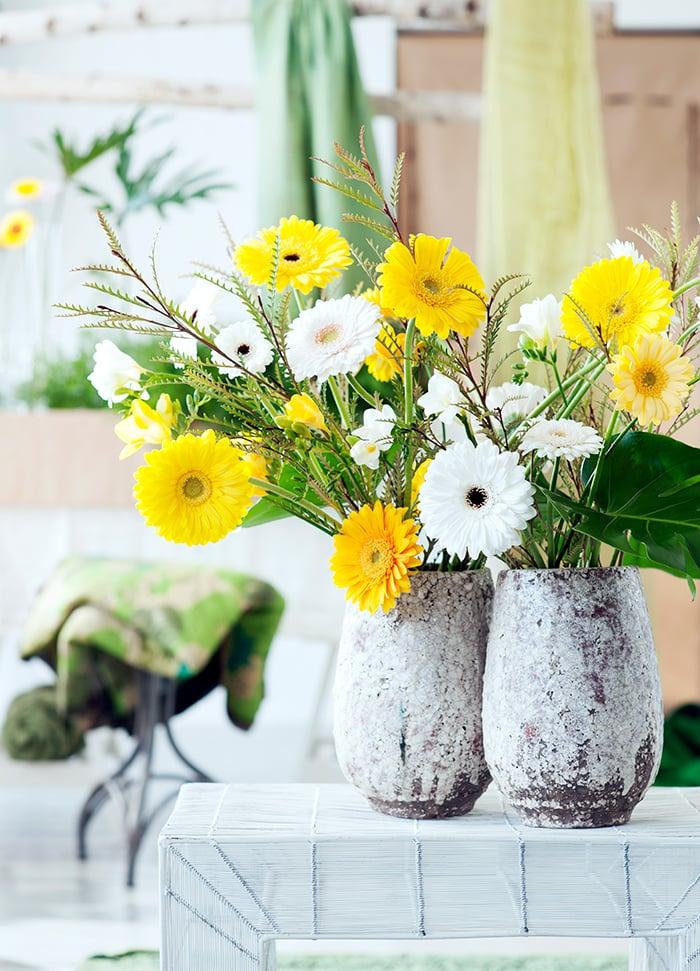 Gelbe Blumen Valentinstag